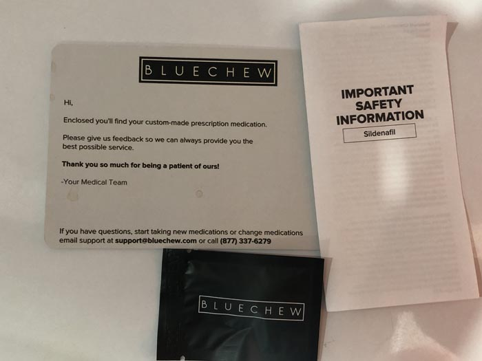 bluechew trial